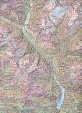 Swisstopo 1 : 50 000 Val Verzasca Skiroutenkarte