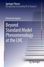 Beyond Standard Model Phenomenology at the LHC