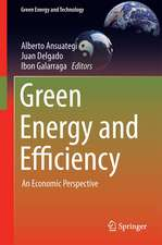 Green Energy and Efficiency: An Economic Perspective