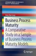 Business Process Maturity: A Comparative Study on a Sample of Business Process Maturity Models
