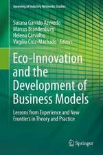 Eco-Innovation and the Development of Business Models: Lessons from Experience and New Frontiers in Theory and Practice (Greening of Industry Networks Studies)
