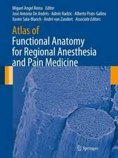 Atlas of Functional Anatomy for Regional Anesthesia and Pain Medicine: Human Structure, Ultrastructure and 3D Reconstruction Images