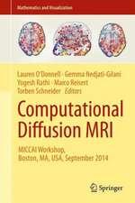 Computational Diffusion MRI: MICCAI Workshop, Boston, MA, USA, September 2014