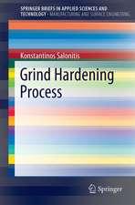 Grind Hardening Process