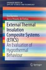 External Thermal Insulation Composite Systems (ETICS): An Evaluation of Hygrothermal Behaviour