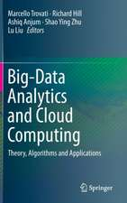 Big-Data Analytics and Cloud Computing: Theory, Algorithms and Applications