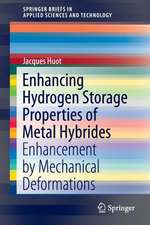 Enhancing Hydrogen Storage Properties of Metal Hybrides: Enhancement by Mechanical Deformations