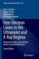 Free-Electron Lasers in the Ultraviolet and X-Ray Regime: Physical Principles, Experimental Results, Technical Realization