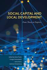 Social Capital and Local Development
