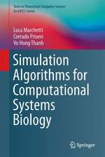 Simulation Algorithms for Computational Systems Biology