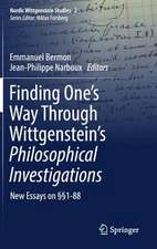 Finding One's Way Through Wittgenstein's Philosophical Investigations: New Essays on §§1-88