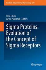 Sigma Proteins: Evolution of the Concept of Sigma Receptors