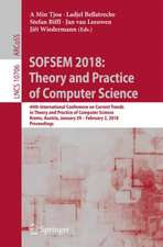 SOFSEM 2018: Theory and Practice of Computer Science: 44th International Conference on Current Trends in Theory and Practice of Computer Science, Krems, Austria, January 29 - February 2, 2018, Proceedings