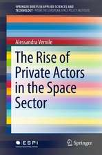 The Rise of Private Actors in the Space Sector