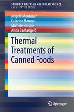Thermal Treatments of Canned Foods