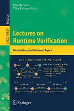 Lectures on Runtime Verification: Introductory and Advanced Topics