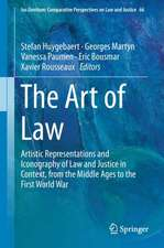 The Art of Law: Artistic Representations and Iconography of Law and Justice in Context, from the Middle Ages to the First World War