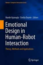 Emotional Design in Human-Robot Interaction: Theory, Methods and Applications
