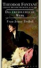Das erzählerische Werk 14. Frau Jenny Treibel oder Wo sich Herz zum Herzen find't