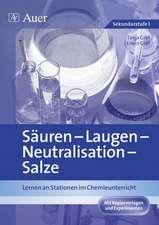Säuren - Laugen - Neutralisation - pH-Wert