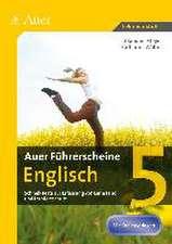 Auer Führerscheine Englisch Klasse 5