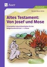 Altes Testament Von Josef und Mose