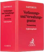 Verfassungs- und Verwaltungsgesetze 1 der Bundesrepublik Deutschland Ergänzungsband (mit Fortsetzungsnotierung). Inkl. 48. Ergänzungslieferung