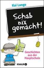 Schab nix gemacht!