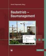 Baubetrieb - Baumanagement