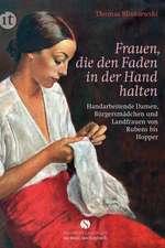Frauen, die den Faden in der Hand halten