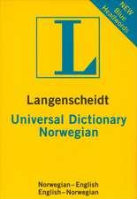 Langenscheidt Universal Norwegian Dictionary:  Italian