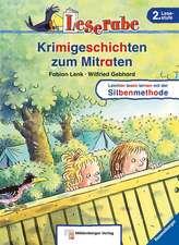 Leserabe mit Mildenberger. Leichter lesen lernen mit der Silbenmethode: Krimigeschichten zum Mitraten: Bestseller Ravensburger. 2. Lesestufe