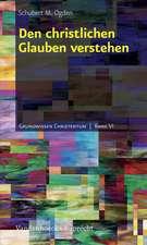 Den Christlichen Glauben Verstehen:  A Contextual Approach to Roles and Ministries in the Pastoral Epistles