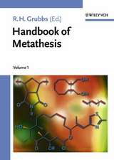 Handbook of Metathesis: 3 Volume Set