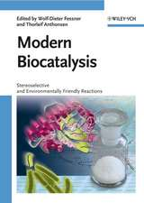 Modern Biocatalysis: Stereoselective and Environmentally Friendly Reactions