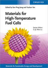 Materials for High–Temperature Fuel Cells