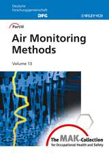 Air Monitoring Methods