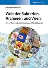 Welt der Bakterien, Archaeen und Viren: Ein einführendes Lehrbuch der Mikrobiologie