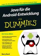 Java für die Android–Entwicklung für Dummies