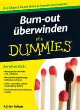 Burn–out überwinden für Dummies