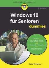 Windows 10 fur Senioren fur Dummies