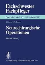 Neurochirurgische Operationen: Weiterbildung