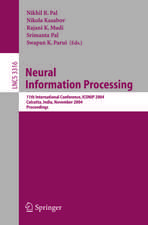 Neural Information Processing: 11th International Conference, ICONIP 2004 Calcutta, India, November 22–25, 2004 Proceedings