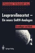 Leuprorelinacetat — Ein neues GnRH-Analogon: Grundlagen und Klinik