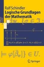 Logische Grundlagen der Mathematik