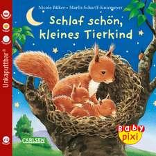 Baby Pixi 40: VE 5 Schlaf schön, kleines Tierkind