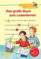 Das große Buch zum Lesenlernen: Lesemaus