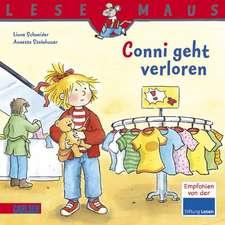 Conni geht verloren: LESEMAUS ab 3 Jahren/ De la 3 ani (3-6 ani)