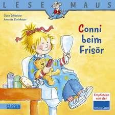 Conni beim Frisör: LESEMAUS ab 3 Jahren/ De la 3 ani (3-6 ani)