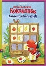 Der kleine Drache Kokosnuss - Konzentrationsspiele